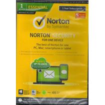 Norton Security Antivirus 2.0 Ingles Licencia Para Un Equipo