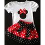 Set Bebe Niña Conjunto De Minnie, Luna,, Princesas, Elmo