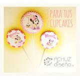 Toppers Para Cupcakes Diseño Personalizado Candy Bar Pinchos