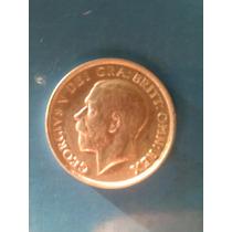 Moneda Inglaterra Plata Año 1911 One Shilling