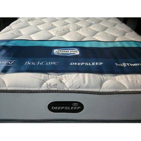 Colchón Simmons 140x190 Deep Sleep Línea Resortes Premium