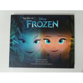 Livro The Art Of Frozen Disney