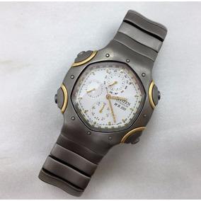 Relógio Citizen Titanium Wr100 Ouro 18k750 E Vidro De Safira