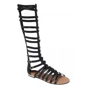710498f80c Sandália Rasteira Gladiadora Ds Brenda Piccadilly - Calçados