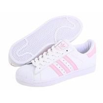 Adidas Superstar Rosas Pastel
