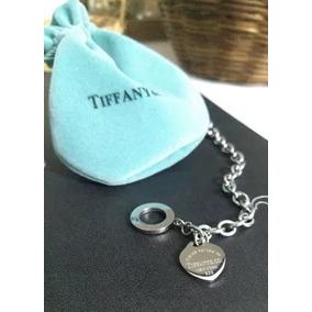 Pulseira Prata Heart Tag Lock Tiffany C0 - Joias e Bijuterias no ... df719e8b3b