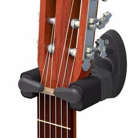 Suporte De Parede C/ Trava Automática Violão Guitarra Baixo
