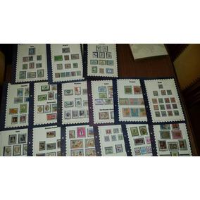 Lote De 15 Fascículos Coleção Selos De Todo O Mundo América