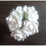 Flor Para Bolos E Decoração, Em Biscuit