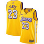 Lakers Lore Series Amarela - LeBron James 23