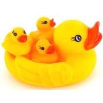 Mama Patita Y Sus Hijitos!! Juguetes Para El Baño Bebes Agua