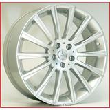 Par Rodas Aro17x7 4x100 Mercedes Hiper Gloss +bicos R66 17