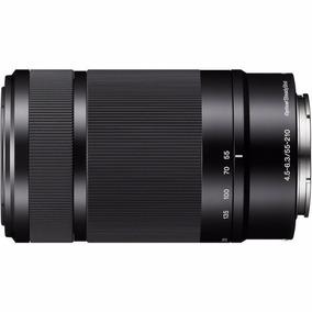 Lente Sony Sel55210 F4.5-6.3 Oss E-mount Objetiva Zoom Nex