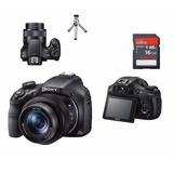 Câmera C0030 Sony Hx400v Gps Wifii Sd16gb + Tripe + Garantia