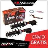 Amortiguadores Regulables Jorsa Delanteros Fiat Uno Rg Kit
