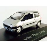 Miniatura De Renault Twingo 2000 Prata 1:43 Ixo