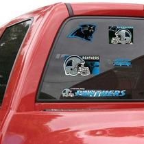 Carolina Panthers - Calcomania Ventana Auto