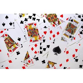 Magica De Cartas, Baralho Magico E Comum, Total De 5 Truques