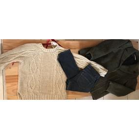 Tapado Zara Jean Levis Sweater Zara