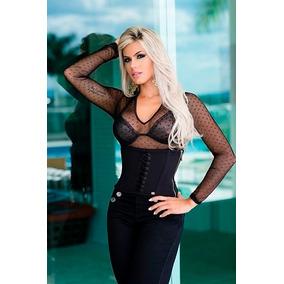 Blusa Sexy Pit Bull Pitbull Jeans 2017 Top Dourado Ref 23966