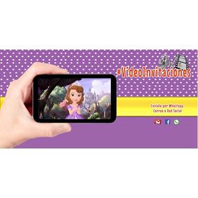 Invitacion Digital En Video De Princesa Sofia