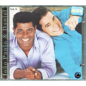 Cd João Paulo E Daniel 1997 - Vol.8 ( 1º Tiragem Lacrado)