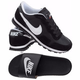 Kit 1 Tenis Nike 1 Chinela Masculina Promoção + Frete Gratis