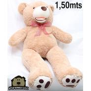 Urso De Pelúcia Gigante Teddy 1 Metro E 50 Cm Casas Do Ursos