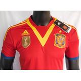 Camiseta España adidas 2013 Techfit
