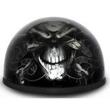 Punto. Daytona Skull Cap- W / Cross Bones Casco De La Motoc