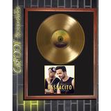 Luis Fonsi Daddy Yankee Despacito Disco De Oro Enmarcado