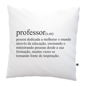 Almofada Dia Dos Professores Dicionário