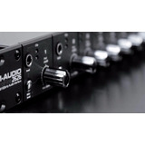 Placa Digital De Gravação M-audio 2626 Profire Interface Top