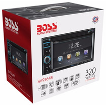 Radio Auto Boss 2 Din Touch Dvd Usb Bluetooth Manos Libres