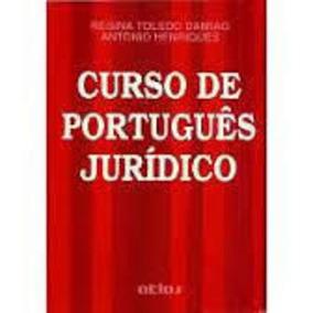 Livro Curso De Português Juridico Regina Toledo Damião