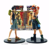 Kit Luffy+ Ace - One Piece - Pronta Entrega