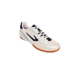 Chuteira Titanium Futsal - Topper - Branco preto ba570af209faa