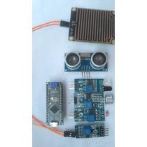 Kit Arduino Nano+ Sensor Lluvia, Sonido, Luz,ir,ultrasonido