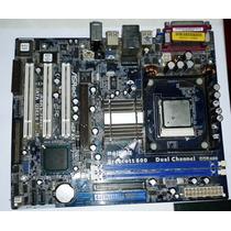 Tarjeta Madre Asrock P4i65g Mas Procesador Intel