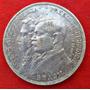 Jm* Brasil Plata 2000 Reis 1922 Conmemorativa