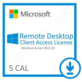5 Cal Acesso Remoto User Ou Device P/windows Server 2012 R2