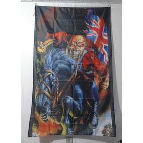 Bandeira Iron Maiden - The Trooper England 93x150