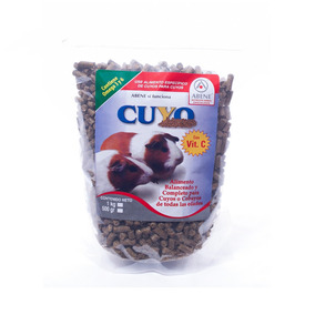 Alimento Para Cuyo En Pellets +kota