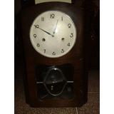 Reloj De Pared Antiguo Aleman Marca Kienzle