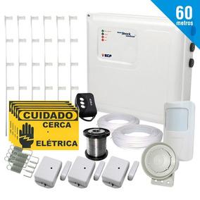 Kit Completo Cerco Eléctrico Electrificado 60 Mts