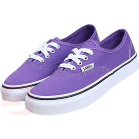 Tênis Vans Off The All Authentic Feminino Roxo Skate Moda
