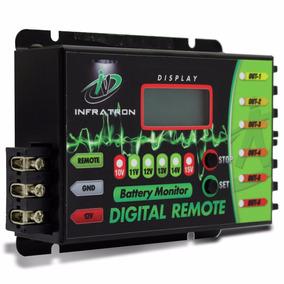 Sequenciador Digital Infratron Voltimetro 6 Vias Remote Som
