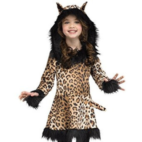 disfraz para nia traje de nio leopardo natural del gato