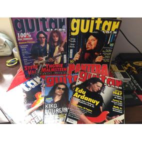 Coleção De Revistas Guitar Class 2003/2004 Com 05 Unidades