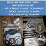 Medio Master Kit Caja Ford C4 Anillos Teflon